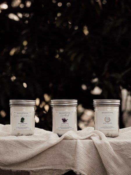 Crystal Infused Awakening Soy Candle Collection